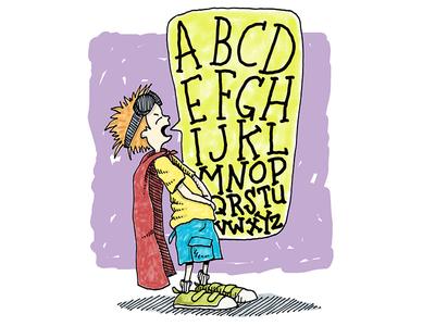 Burping the Alphabet