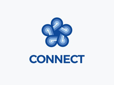 Connect Logo Explorations hexagonal minimal geometric creative monogram connect logo design service letter mark serbaneka creative mark logo inspirations
