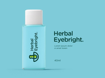 Herbal Eyebright Logo Applications mark serbaneka creative logo inspirations eyesight eyes herbalhealth medicine herbalmedicine herbal products eyes care aye bright eyebright herbal