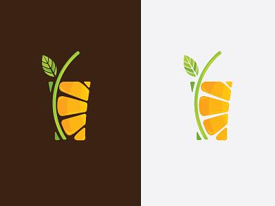 Orange Juices jasa desain grafis logo water cafe drink fruits professional logo logo design service logo inspirations orange juice juice