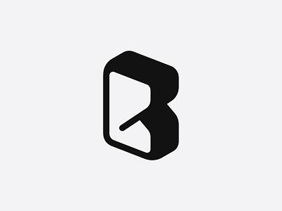 Letter mark B for bread letter mark lettermark bread
