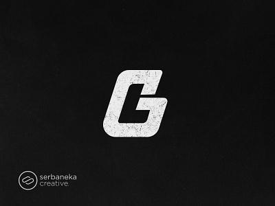 GL logo for sports brand crossfit creative healthy gymlife gym fitness serbaneka creative logo inspirations sportswear sportwear sport sports