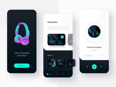 Music App Exploration - Musiqolbu