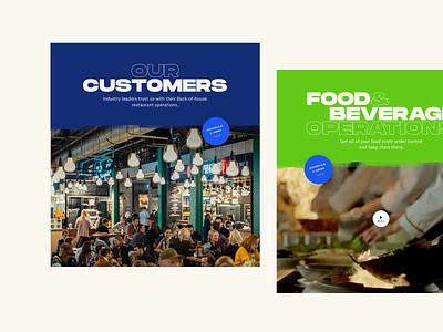 CrunchTime! Web headers typography web branding design ui design ui