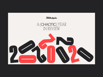 EOY 2020 - Home branding interface typography web design ui