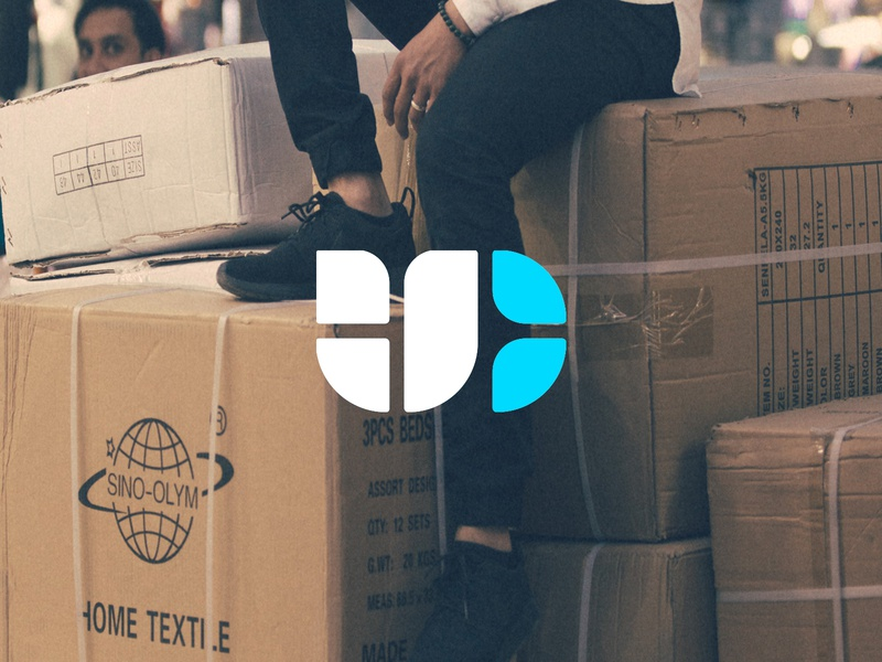 Union Crate mark graphic design shipping tech brand identity branding identity logo
