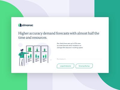 Union Crate - Almanac interface product web illustration branding design ui