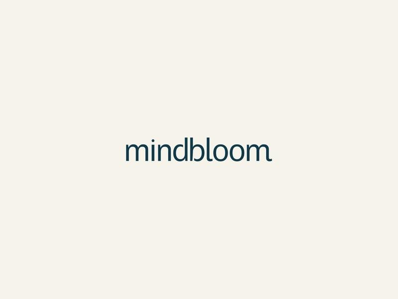 Mindbloom - brand brand identity logo branding design