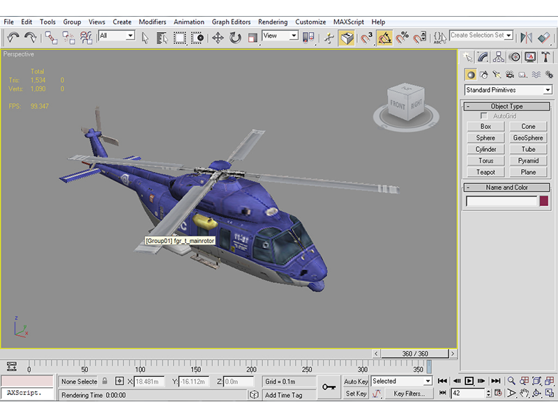 helicopter 3d prop game