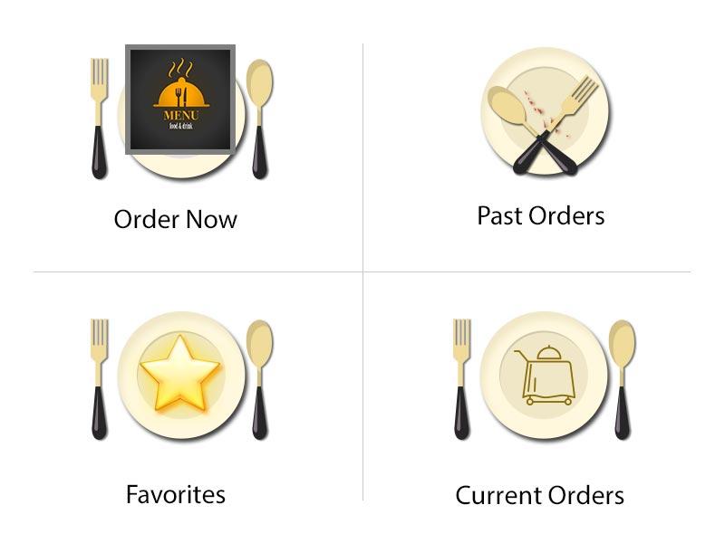 surface table Menu App Icon icon restaurant