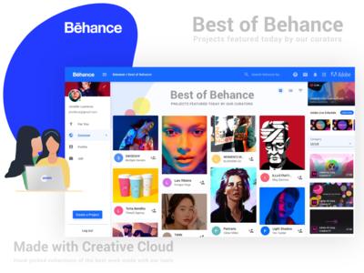Behance Re Design