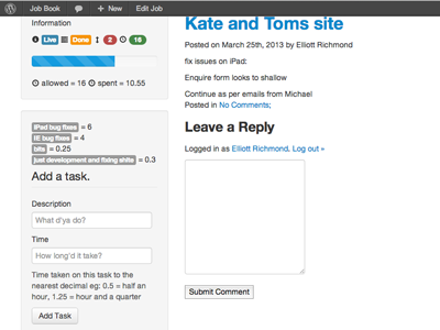 Apps On Wordpress wordpress project management