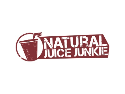 Naturaljuicejunkie natural urban juicing juice logo