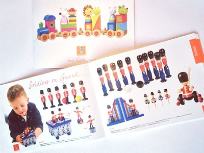 Orange Tree Toys product brochure sales layout catalogue
