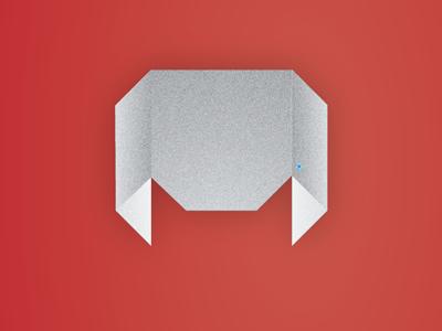 Origami Vet Logo logo vet centre