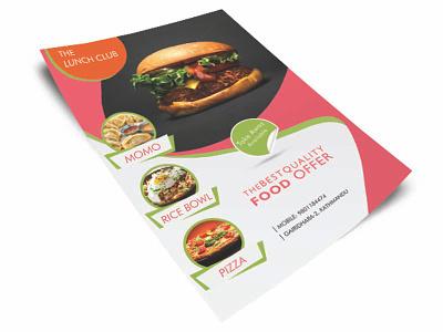 The Lunch Club ^-^ brochuredesign posterdesign flyerdesign design brochure food template poster flyer