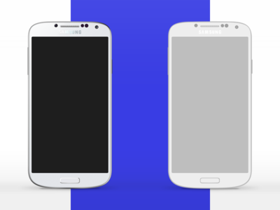 [Free] Galaxy S4 Vectorial realistic wireframe vectorial galaxy s4 samsung smartphone white light concept design