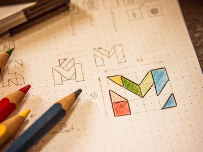 Himaill - Logo idea (sketch)