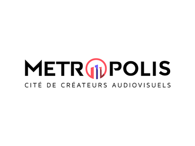 Metropolis - logotype and identity geometric logotype serie video association movie city metropolis logo identity