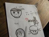Noodle Zap - Sketches