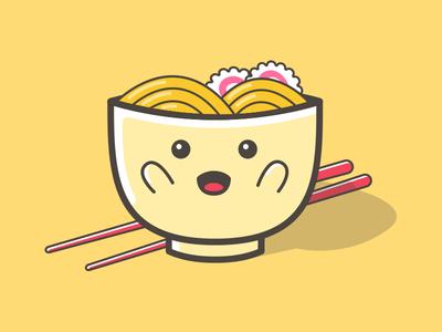 Noodle Zap - Cutty Mascot