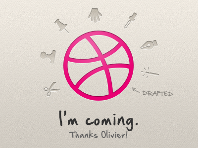 I'm coming. drafted thanks ball pink creamy new player