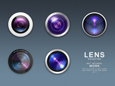 Photo Lens Collection - Free use photo lens collection free black white purple blue light dark vectorial