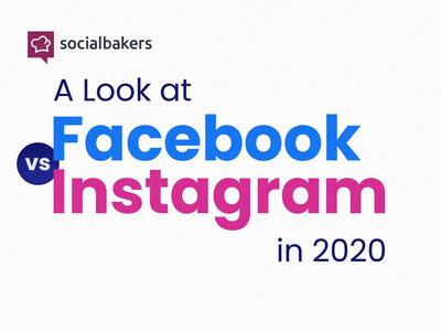 Facebook Vs Instagram In 2020_study teaser teaser study instagram facebook illustration logo after effects socialbakers motion