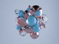 floating spheres.c4d