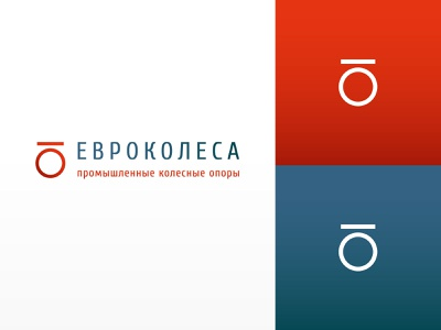 Eurowheels icon vector logo design branding