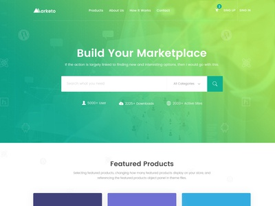 Marketoi - HTML Template For Digital Product Marketplace