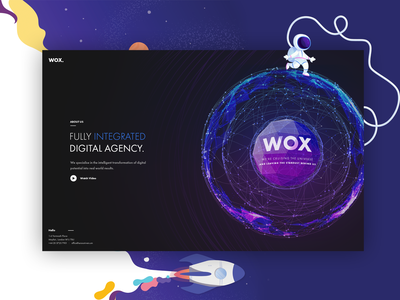 𝗗𝗶𝗴𝗶𝘁𝗮𝗹 𝗔𝗴𝗲𝗻𝗰𝘆 - ₩ØӾ. 👌 simple flat clean interface dashboad dribbblers inspiration agency digital agency adobe webdesigner appdesign userexperience creative designer uiux webdesign branding userinterface