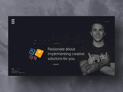 Agency agency exploration creative designer preview professionals template webdesign web design website