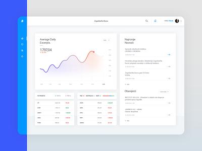 B - Dashboard simplicity simple clean ecommerce analytics chart graphic web design web app chart analytic flat dashboard uidesign ux webdesign web interface website ui design