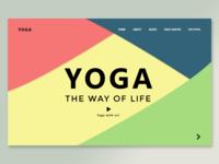 Yoga Web Page Design