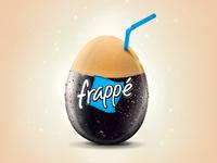 Nestle illustration for nescafe frappe