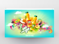 Frulite Web site Design