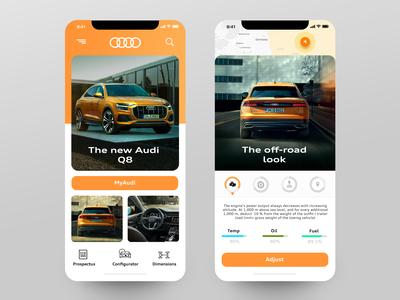 Audi Q8 Mobile App