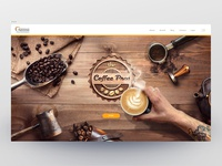 "Nestle ""The Coffee Pros"" web site & visuals design"