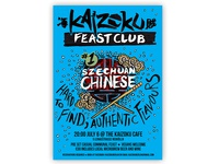 Feast Club Poster