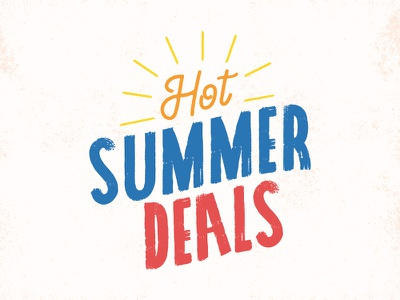 Hot Summer Deals email summer type chewy