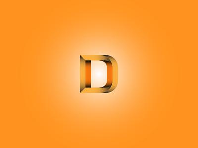 D Letter Form
