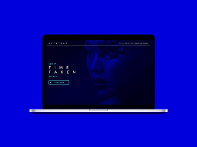 Time Taken Website Concept graphic design web design ui ux website