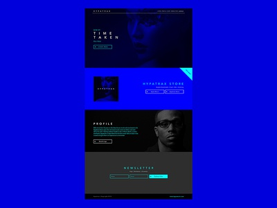 Hypafire Website graphic design web design ui ux website