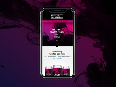 Beast Of The Yeast - Mobile Email Design mobile first responsive email design mobile email