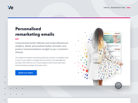 Personalised email remarketing web graphic