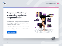 Programmatic display advertising web graphic