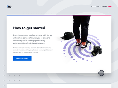 Get Started - web graphic decision choice next step personalised experiences decision making relevancy browsing product online shopping illustration branding audience web web design retail customer experience ecommerce graphic design personalisation graphic