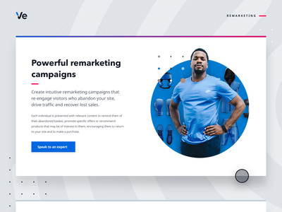 Remarketing - web graphic engage campaign online shopping fitness sport boxer boxing sportswear relevancy remarketing retail audience branding illustration web design ecommerce graphic design customer experience personalisation graphic