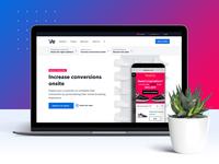 Web page design - Digital Assistant